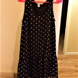 american rag cie polka dot dress L